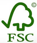 We use locally sourced and FSC timber